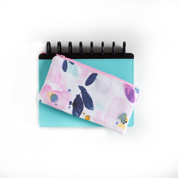 Deluxe Pen Pouch - Watercolor Floral