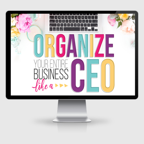Organize Your Entire Biz Like a CEO