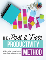 The Post-It Note Productivity Method Digital Guide