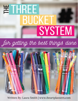 The Three Bucket System Digital Guide