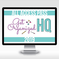 Get Organized HQ All Access Pass - 2019