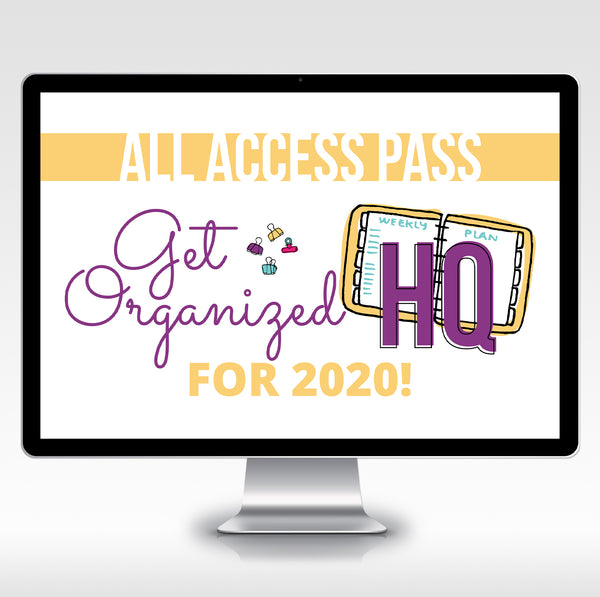 Get Organized HQ All Access Pass - 2020