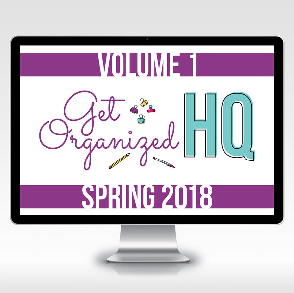 Get Organized HQ (Volume 1) All Access Pass