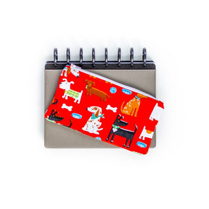 Deluxe Pen Pouch - Dogs