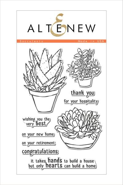 Succulents Stamp Set - Altenew
