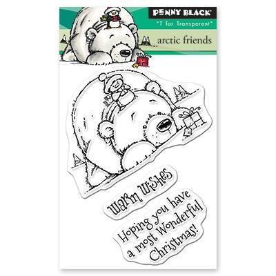 Arctic Friends - Penny Black Stamps