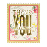THANK YOU VERY MUCH GLIMMER HOT FOIL PLATE - Spellbinders