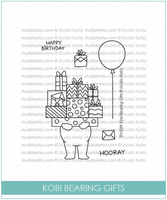 STKS059 - Kobi Bearing Gifts | Clear Stamp Set - Studio Katia