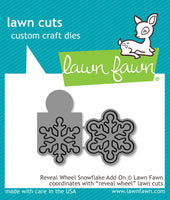 reveal wheel snowflake add-on - lawn cuts