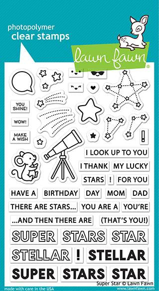 super star Lawn Fawn Stamp Set