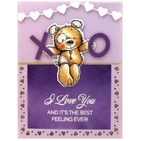 Love Sentiments - Penny Black Stamps