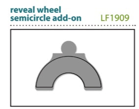 Reveal Wheel semi-circle add-on - LAWN CUTS