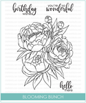 STKS033 - Blooming Bunch | Clear Stamp Set - Studio Katia
