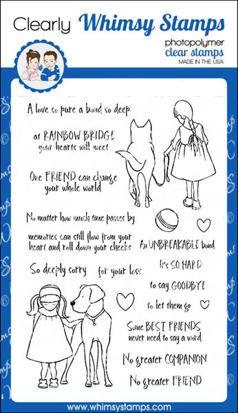 An Unbreakable Bond - Whimsy Stamps