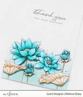 Lotus Stamp & DIE Bundle - Altenew
