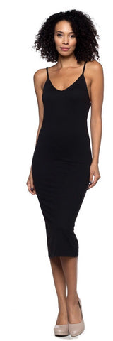 Back-slit Cami Dress