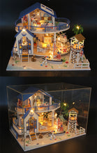 Hoomeda Legend Of The Blue Sea DIY Dollhouse Miniature Model With Lights  on
