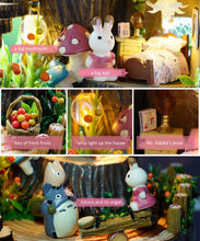Totoro Anime Cottages Music Box Kit - Fantasy Forest