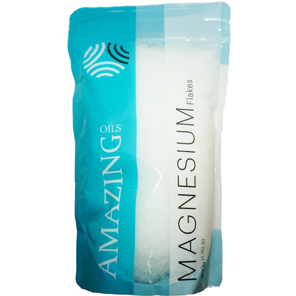 Magnesium Bath Flakes 800g - Amazing Oils