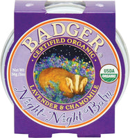 Badger Balm Night Night Balm 56g - Certified Organic buy at Delta Dreams