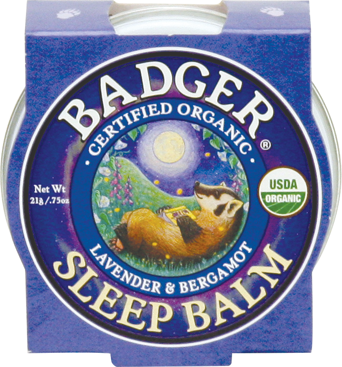 Badger Balm Sleep Balm 21g Certified Organic Buy at Delta Dreams