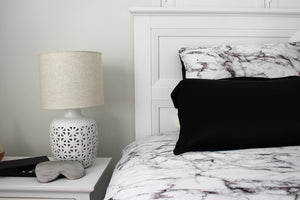 Delta Pure Silk Pillowcase Black by Delta Dreams