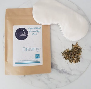 Delta Dreams Dreamy Tea and Silk Sleep Eye Mask