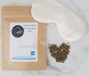Unwind Relaxation Tea 30g - Delta Dreams Special Blend