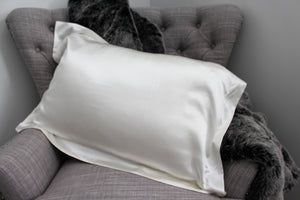 Delta Pure Silk Pillowcase White by Delta Dreams