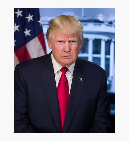 Trump Photographic Print  8x10