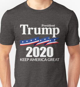 President Trump 2020 - Keep America Great