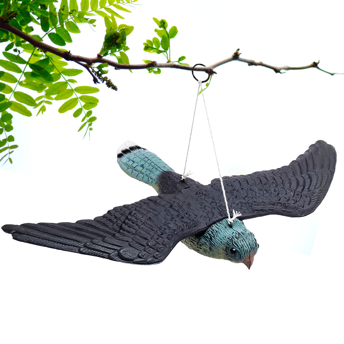 Bird Repellent Fake Flying Hawk Decoy - Perfect for Home and Garden