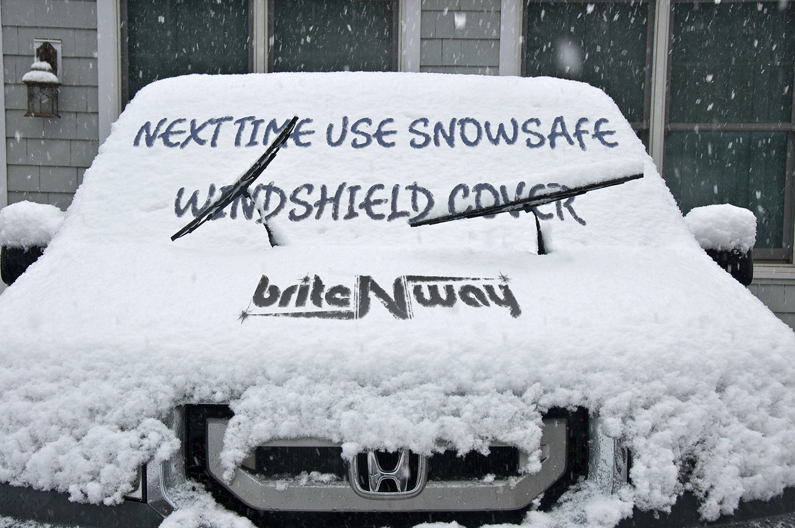 Windshield Snow Cover & Wiper Protector - Keep your Vehicle Exterior Frost Free and Clean