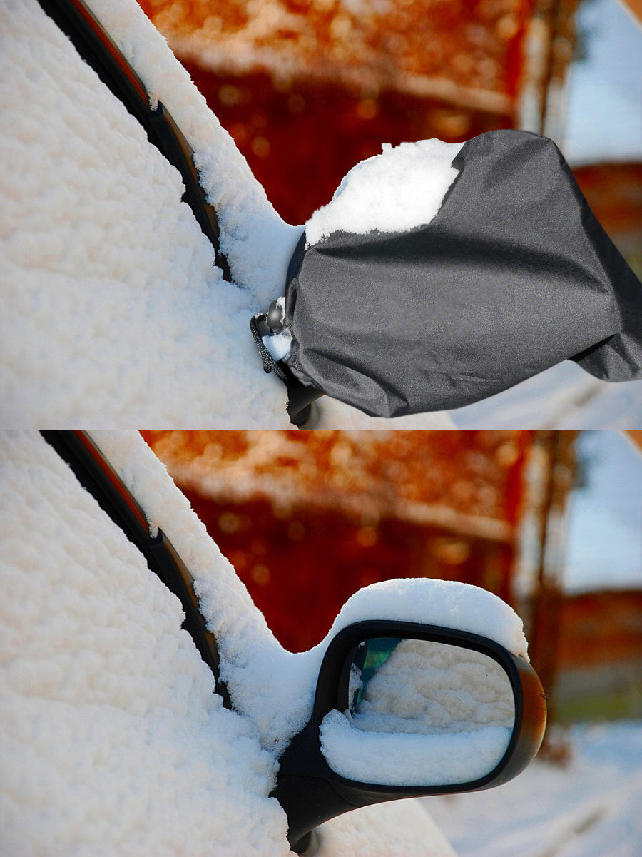 Mirror Snow Cover and Protector - Large and Durable - 11 x 9 inches
