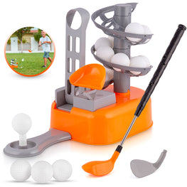 BRITENWAY Kids Golf Toy Set, Toddler Golf Toys, Early Educational and Outdoor Exercise Toys for Toddlers, Active Learning Sports Game for 3, 4, 5, 6, 7 Year Old Boys and Girls