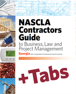 Georgia NASCLA Contractors Guide to Business, Law and Project Management, Georgia State Licensing Board for Residential and General Contractors 2nd Edition - Tabs Bundle (Book+Tabs)