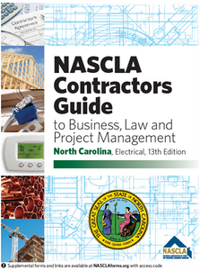 NASCLA NORTH CAROLINA Electrical, 13th Edition with pre printed tabs