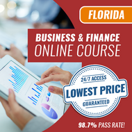 Florida Business and Finance Exam - Online Exam Prep Course [for Construction Contractors]