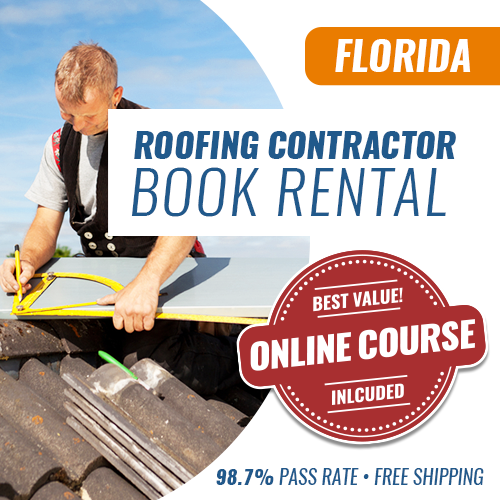 Florida Roofing Contractor Exam Book Rental