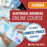 Florida Electrical Business Computer Based Examination (CBT) - Online Exam Prep Course - Pearson Vue