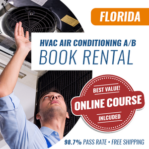 Florida Air A and Air B Contractor License Book Rental
