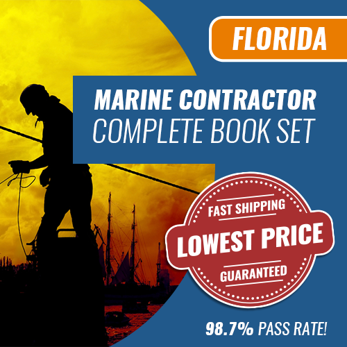 Florida Marine Contractor Exam Complete Book Set - Trade Books