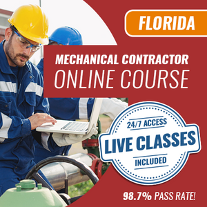 Florida Mechanical Contractor Trade Knowledge Online Exam Prep Course