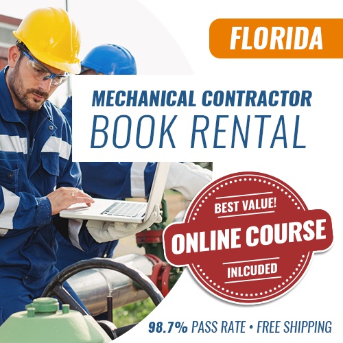 Florida Mechanical Contractor License Exam Book Set - Book Rental