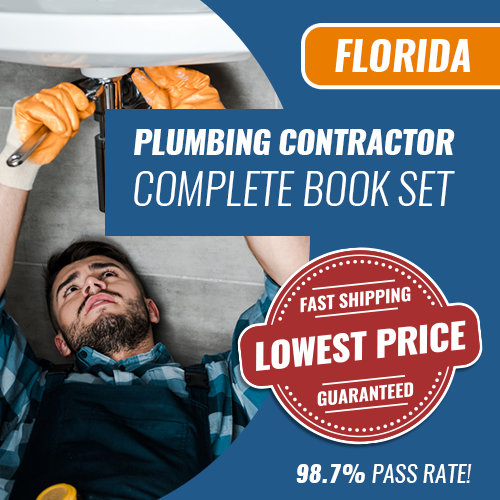 Florida Plumbing Contractor Complete Book Set - Trade Books