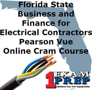Florida Electrical Business Exam - Online Practice Questions (for Electrical Contractors)