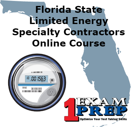 Florida Limited Energy Specialty Contractor - Pearson Vue - Online Exam Prep Course