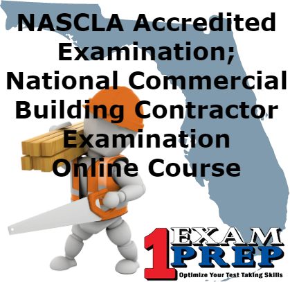 Online Simulated Practice Exams for NASCLA Contractors Guide to Business, Law and Project Management  Basic 12th Edition