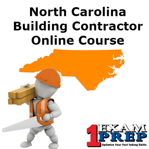 North Carolina PSI Building Contractor Exam Prep Course