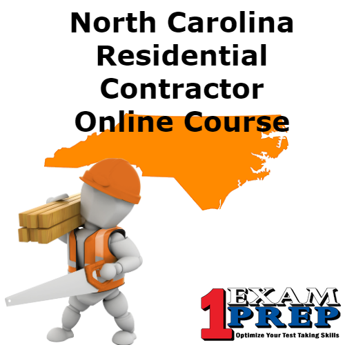 North Carolina PSI Residential Contractor Online Course